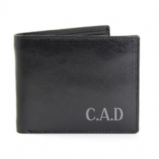 Initial Leather Wallet